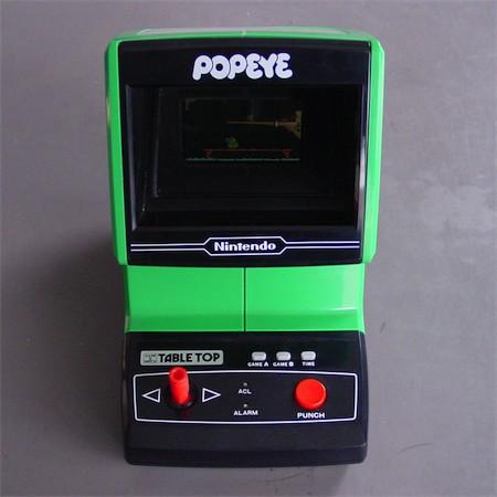 Electronic Plastic Nintendo Popeye 1983
